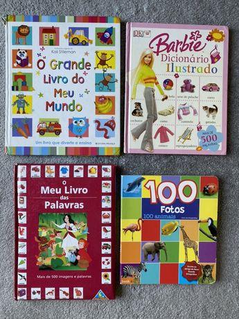 Livros Infantis / Dicionario Ilustrado Barbie / Palavras / Animais