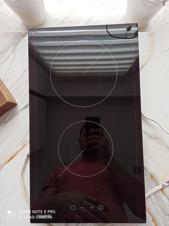 Płyta elektryczna żarowa ceramiczna akpo dwa pola palniki 230 v