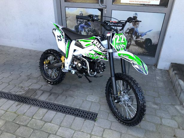 Cross/Pitbike 612 PRO E-start 125cc koła 14'/17' KXD