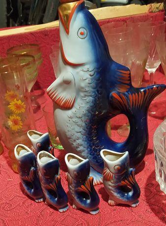 Продам кувшин рыбки
