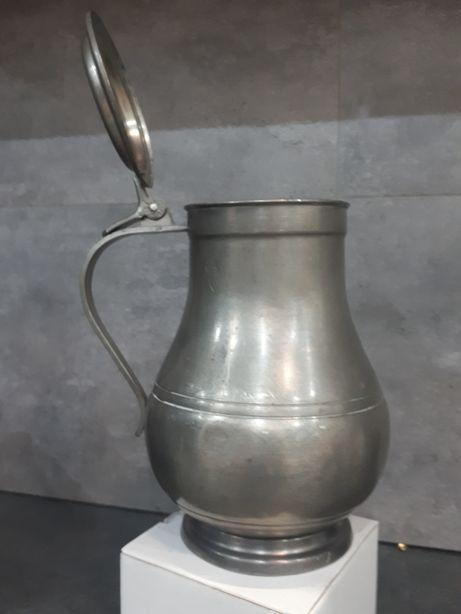 Kufel cynowy duży
