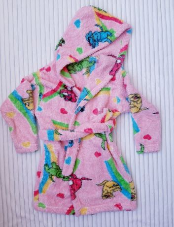 Детский халат, теплый, махровый. Дитячий халатик. Пижама