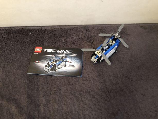 Lego technik helikopter z instrukcją