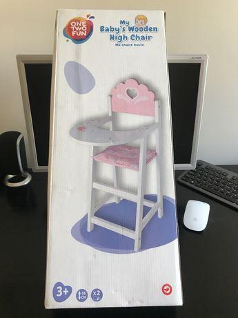 Cadeira para bonecas - NOVA