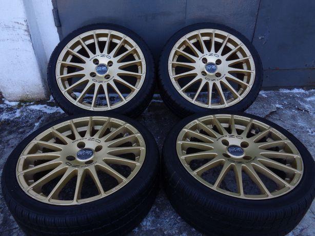 Oryginalne OZ Superturismo GT złote '17 cali 4x108 ET48, Ford, wysyłka