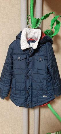 Деми курточка  на мальчика на рост от 92 до 110 см от 3до 5 лет