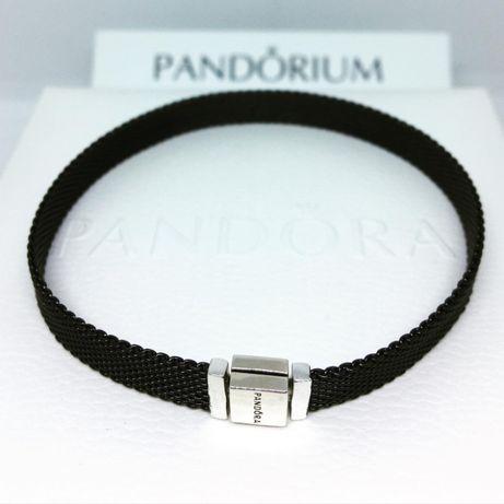 Браслет PANDORA «Reflexions» из оксид. серебра в фирменной упаковке