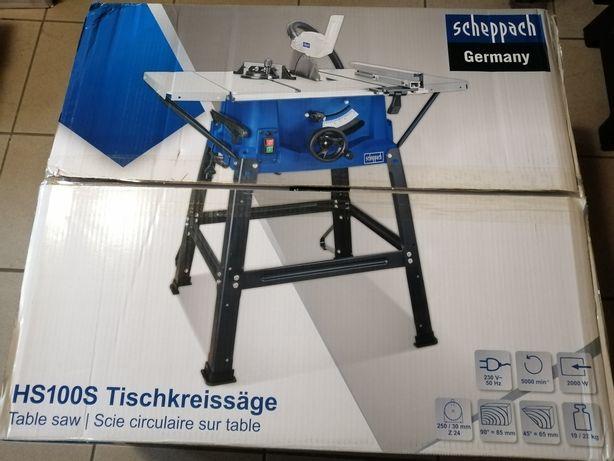 Scheppach Hs100s piła pilarka stołowa krajzega 2000W 250mm 5 tarcz