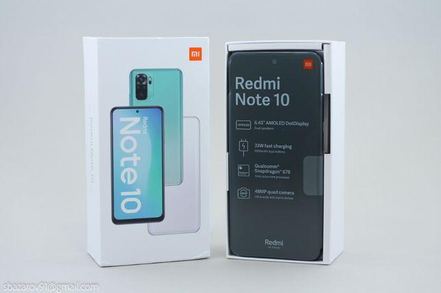 Xiaomi Redmi Note 10 4 64Gb  Global! Новый! 13500р