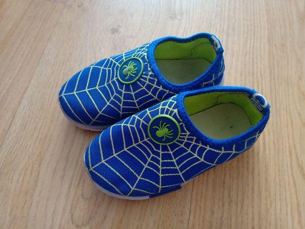Buciki/sneakersy Spider-Man 28 wsuwane - wkładka 17cm