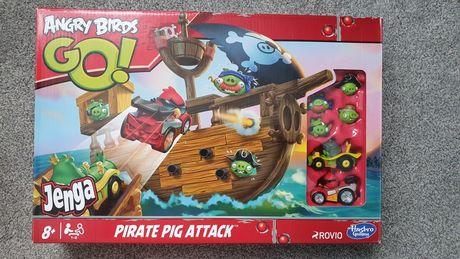 Zestaw Hasbro Angry Birds Go! Jenga - Pirate Pig Attack
