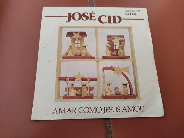 Disco Vinil José Cid-Amar Como Jesus Amou
