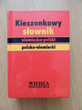 Kieszonkowy słownik niemiecko-polski, polsko-niemiecki TWARDA OPRAWA