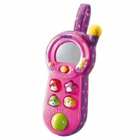 Развивающий телефон для самых маленьких VTech soft singing phone.