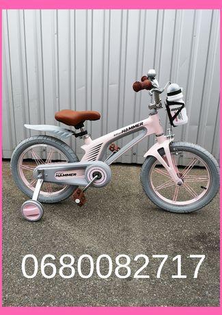"""Велосипед детский Hammer Brilliant 16"""" Легкий Яркий КИЕВ !!"""
