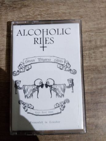 ALCOHOLIC RITES - Sixxx Bizarre Shits - unikalna kaseta