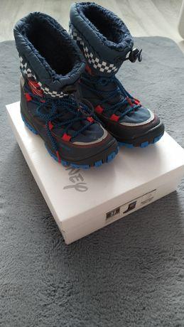 Śniegowce buty zimowe chłopięce Cars 32