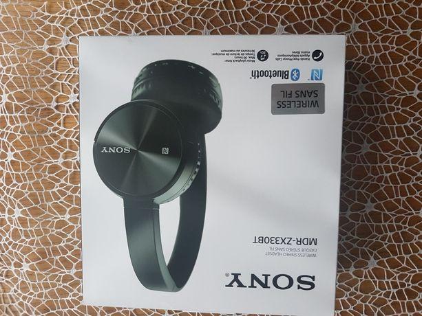 Sony słuchawki bezprzewodowe jak nowe MDR-ZX330BT
