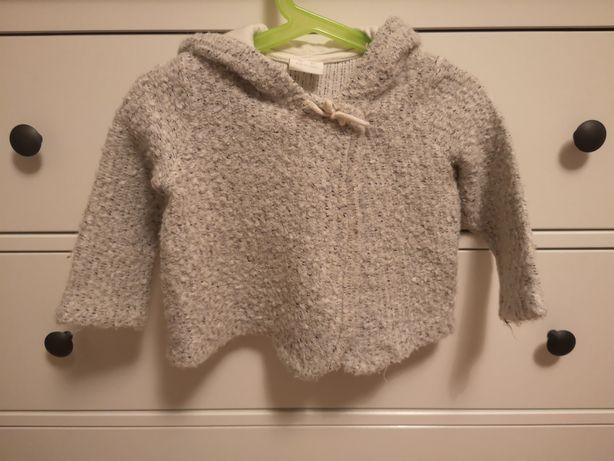 Sweter/bluza Zara roz 86 j. Nowy