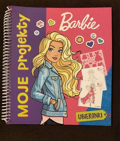 Barbie. Moje projekty. Ubieranki. Kreatywna zabawa dla dziewczynek.