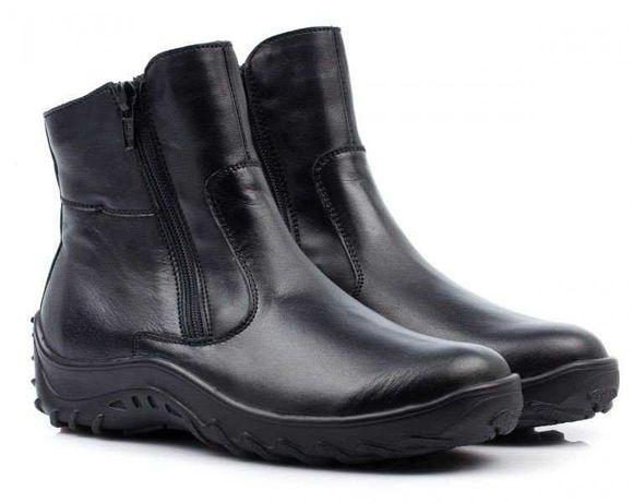 Распродажа! Зимние кожаные ботинки Тиранитос Tiranitos, р.32,33,34