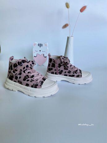 Тм. Clibee ботинки хайтопи для дівчинки