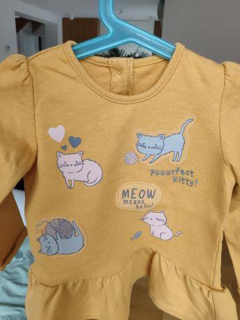 Bluzy i kamizelka dla dziewczynki