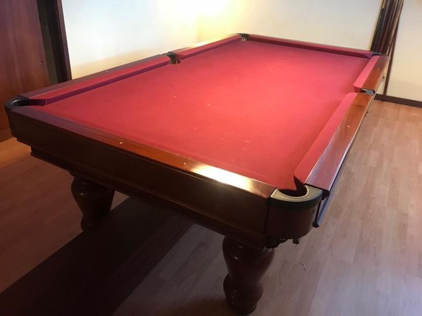 Bilhar snooker usado como novo