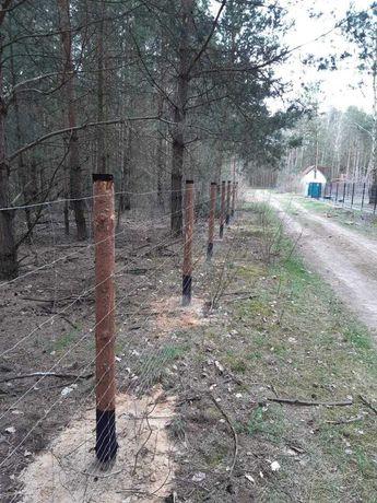 Ogrodzenia tymczasowe, budowlane z siatki leśnej