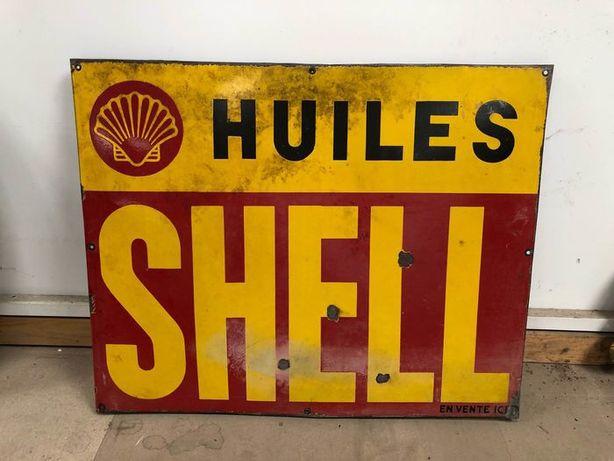 Chapas vintage shell castrol