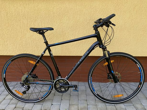Гибридный велосипед Trek 8.6 DS обвес SLX