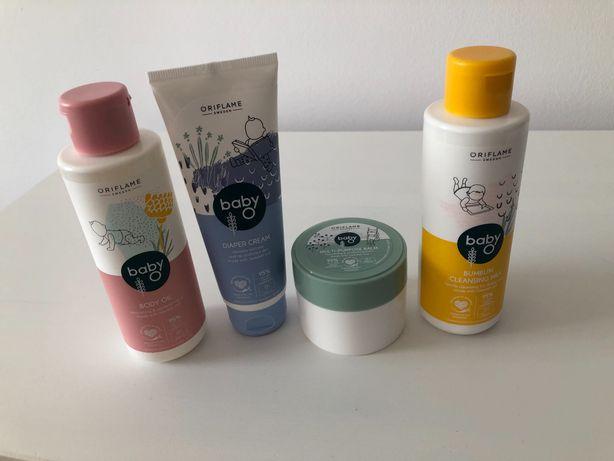 Zestaw kosmetyków dla niemowlaka