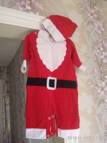 Новогодний костюм Деда мороза рост 68