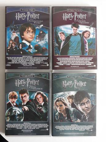 Harry Potter 7 filmów DVD kolekcja wersja Angielska