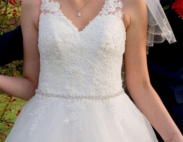 Suknia ślubna, księżniczka