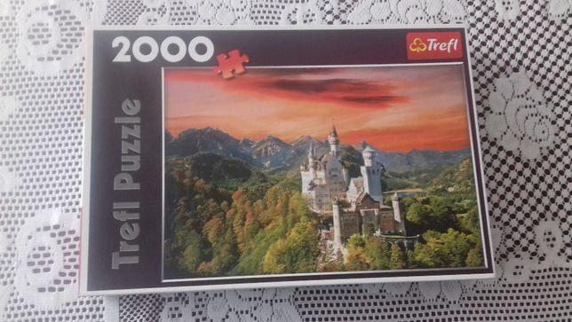 Sprzedam puzzle Zamek Neuschwanstein