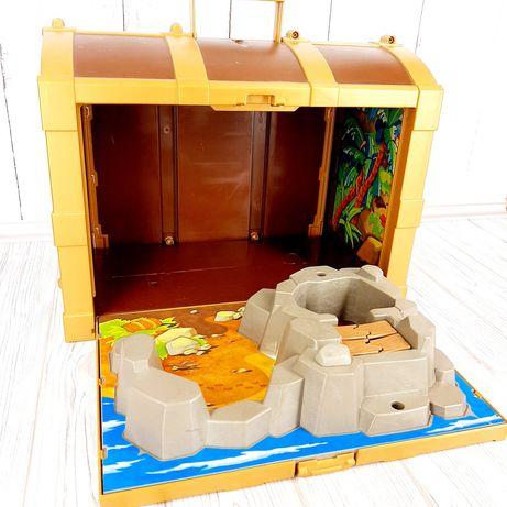 Большой вместительный сундук Плеймобил Playmobil.