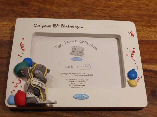 ramka na zdjęcie z okazji 18 urodzin me to you