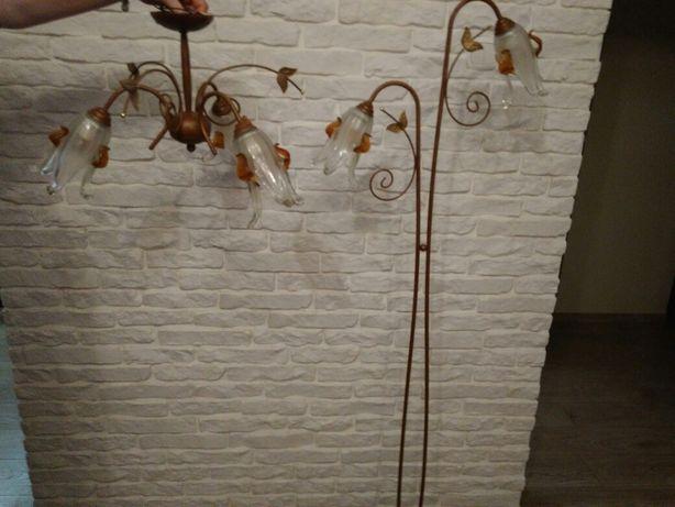 Lampa podłogowa i sufitowa