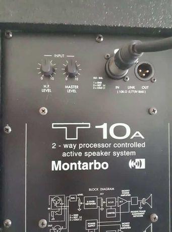 Активні акустичні колонки Montarbo T-10A Italy 300 Вт