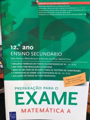 Preparação para Exame Matemática A - Educação Nacional