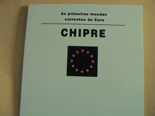 Moedas do Chipre em carteira