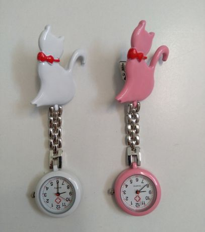 Relógio de peito para enfermeira, auxiliar, farmacêutica