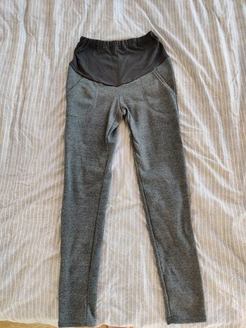 NOWE Spodnie leginsy ciążowe M 38 ubrania