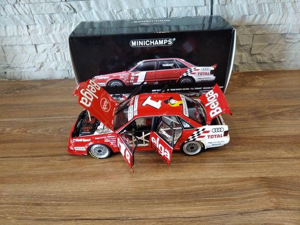 1:18 Minichamps 1993 Audi V8 Evolution #1 Belga P.A. Thibaut