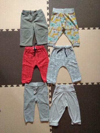 Ubranka dla niemowlaka - spodnie rozmiar 80
