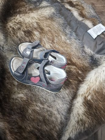 Sandałki dziecięce Lassocki (25)