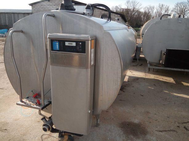 Zbiornik schładzalnik chłodnia do mleka Delaval 4000l 2006 rok.