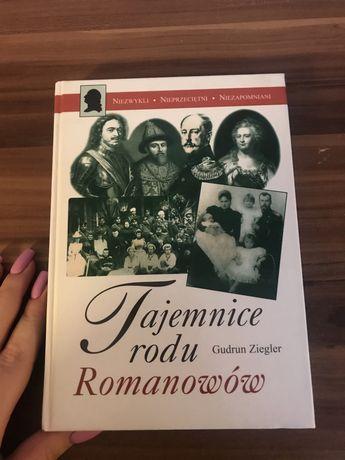 Tajemnice Rodu Romanów książka