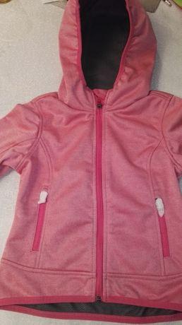 Nowa kurtka Softshell 116 dla dziewczynki